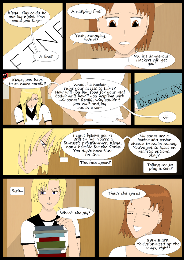 'Not A Villain' Webcomic: Kleya should stick with what she knows and forget her dreams.
