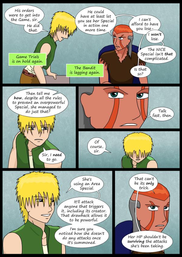 'Not A Villain' Webcomic - Dr Grace wants to understand Kleya's Special..