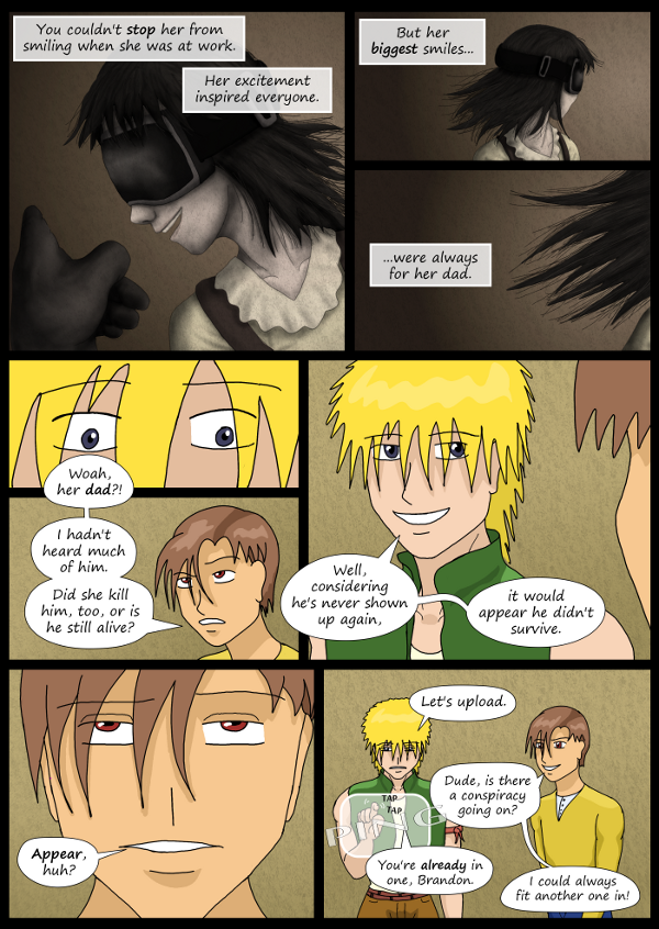 'Not A Villain' Webcomic - Bandit reminisces about Kleya. May or may not have slipped up.