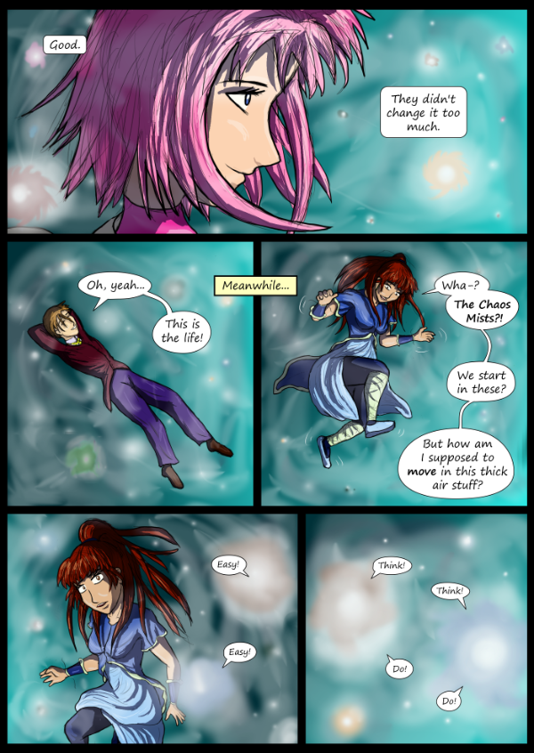 'Not A Villain' Webcomic - lost in the Chaos Mists