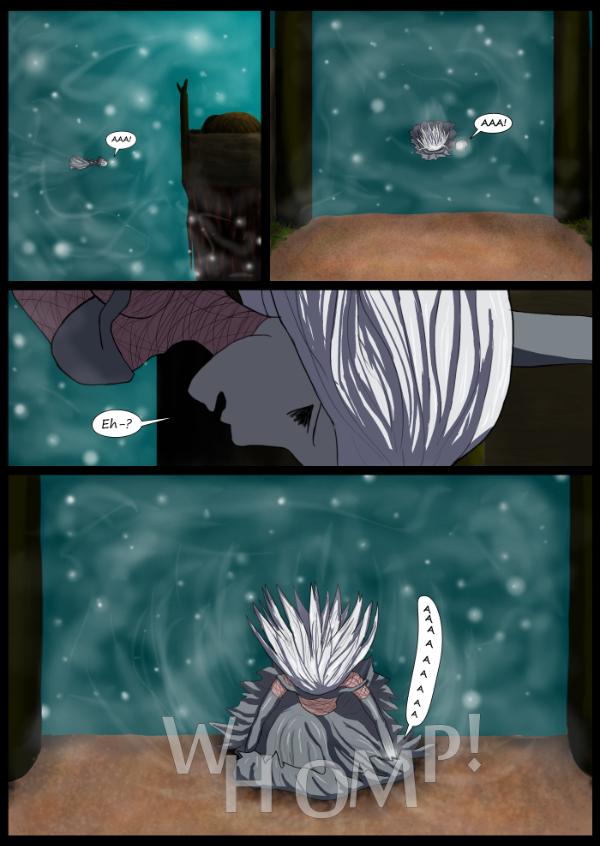 'Not A Villain' Webcomic - Jane arrives first. Finds gravity.