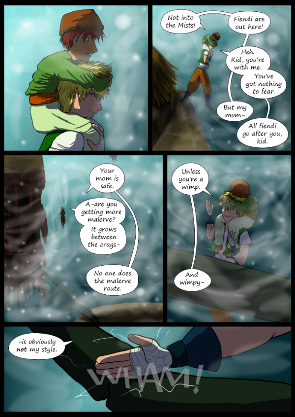 'Not A Villain' Webcomic