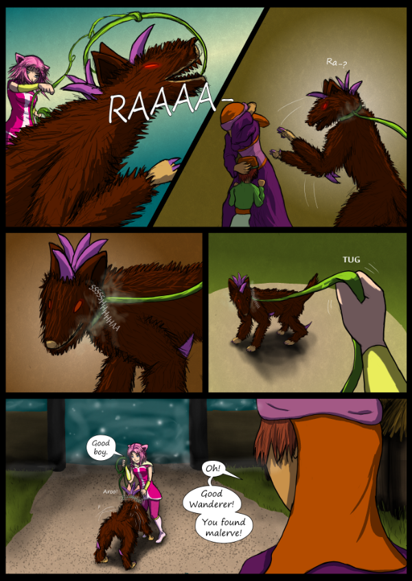 'Not A Villain' Webcomic - Kat captures Fiendi!