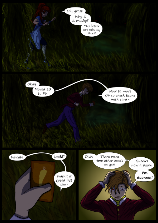 'Not A Villain' Webcomic - Danni and the Dude venture into the jungle.