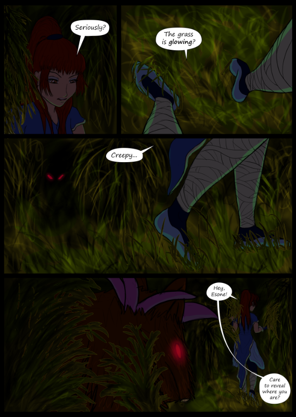 'Not A Villain' Webcomic - Danni explores the jungle