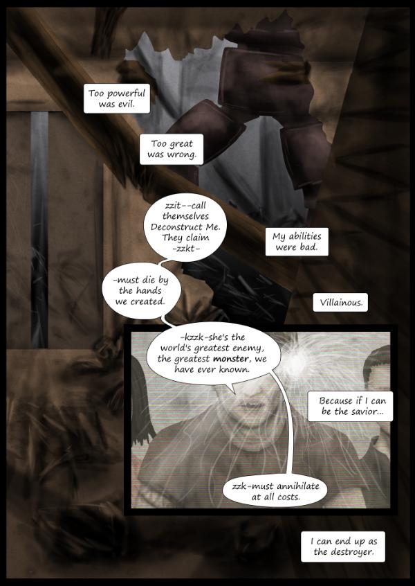 """""""Not A Villain"""" Webcomic - Kleya remembers..."""