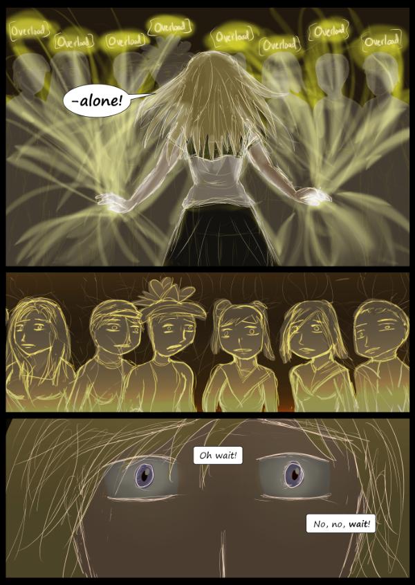 'Not A Villain' Webcomic - Kleya hacks the blobs.